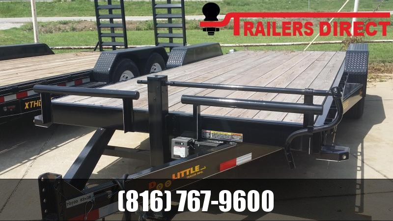 2018 Doolittle Trailer Mfg 82 x 20 Equipment Trailer