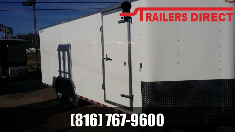2019 Doolittle Trailer Mfg 8.5 X 20 Enclosed Cargo Trailer