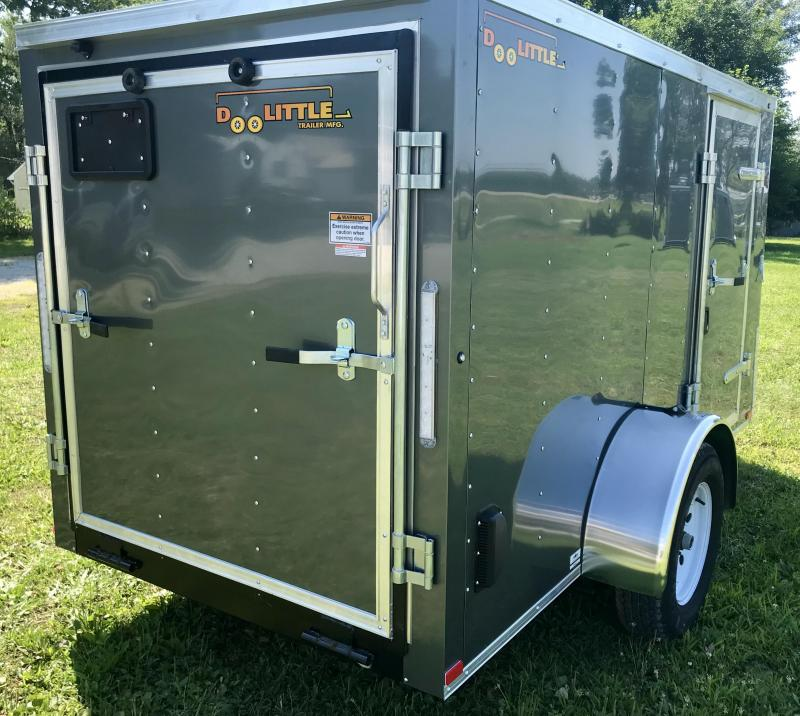 **FLASH SALE** 2019 Doolittle Trailer Mfg 7 X 12 Enclosed Cargo Trailer