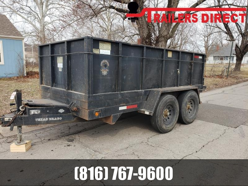 2003 Texas Bragg Trailers 82 X 12 Dump Trailer in Ashburn, VA
