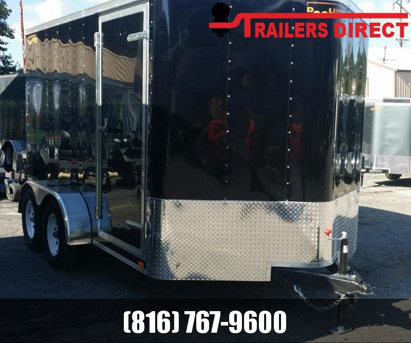 2018 Doolittle Trailer Mfg 7 X 12 Enclosed Cargo Trailer