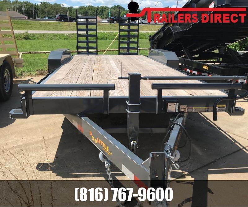 2019 Doolittle Trailer Mfg 82 X 20 XT Equipment Trailer