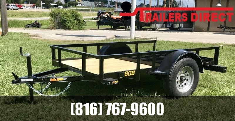 2020 Doolittle Trailer Mfg 60 x 8 RS Utility Trailer