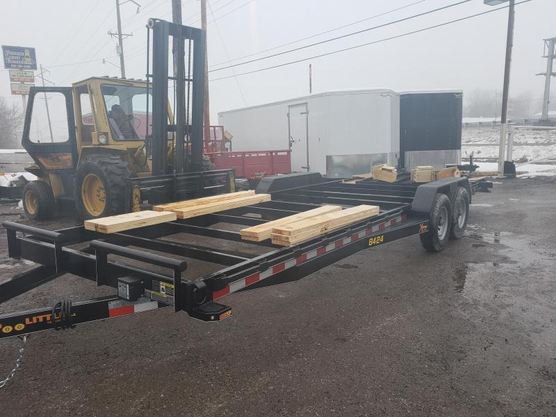2019 Doolittle Trailer Mfg 84 X 24 Equipment Trailer