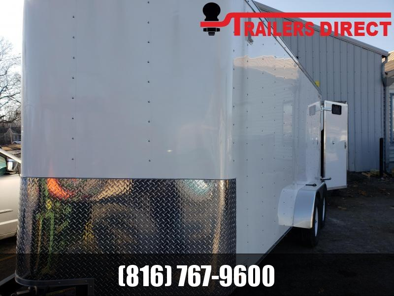 2019 Doolittle Trailer Mfg 7 X 16 Enclosed Cargo Trailer