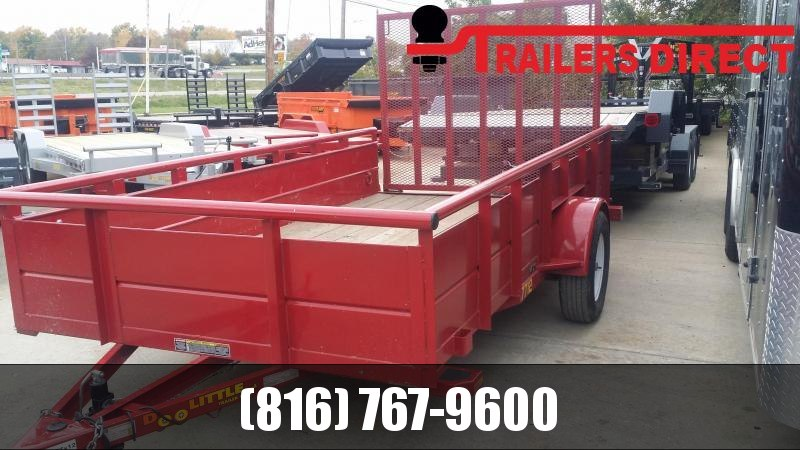 2018 Doolittle Trailer Mfg 77 X 12 SS Utility Trailer