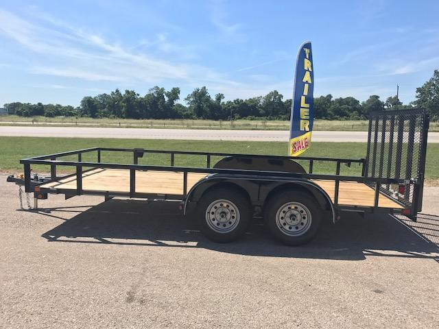 2018 East Texas 83x16 Utility Trailer W/Ramp Gate