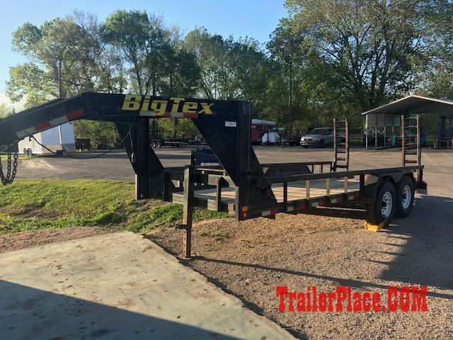 2003 Big Tex 83 x 18 Equipment Trailer