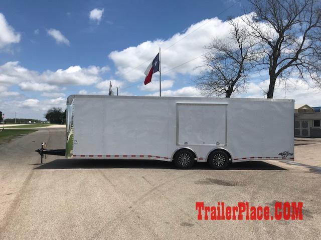 2018 Cargo Craft 8.5x28 Auto Hauler Enclosed Cargo Trailer