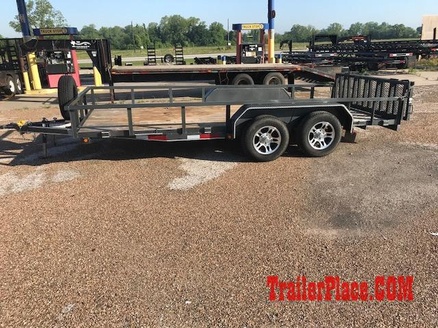 2017 East Texas 83x16 Utility Trailer W/Ramp Gate