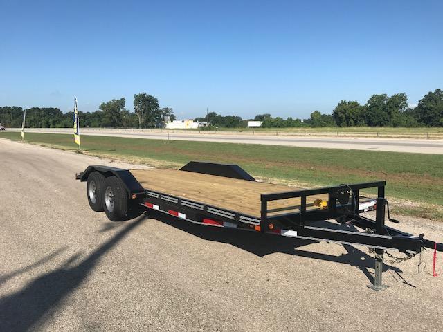 2018  83x22 car/equipment hauler