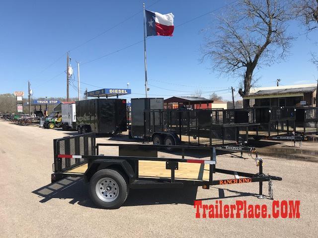 2018 Ranch King 5 X 9 Utility Trailer