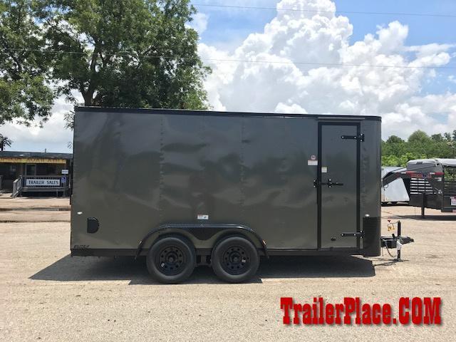 2018 Cargo Craft 7 x 16  Enclosed Cargo Trailer