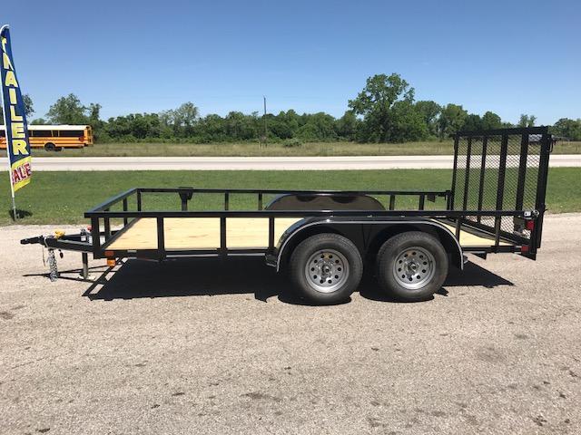 2018 East Texas 77 x 14 double axle Utility Trailer