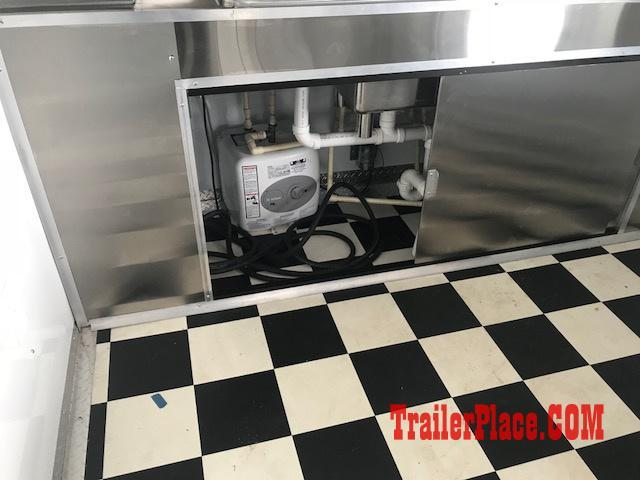 IN STOCK 2018 8.5x22 BBQ / PORCH / CONCESSION / VENDING / FOOD TRAILER