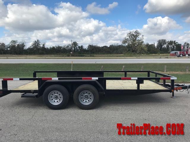 "2018 Ranch King 6'10""x 16 Utility Trailer"