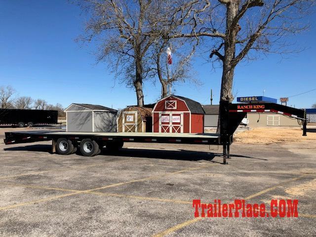 2018 Ranch King 102 x 32 Flatbed Trailer