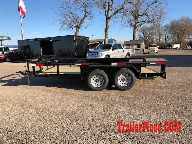 "2018 Ranch King 6'10"" x 14 Utility Trailer"