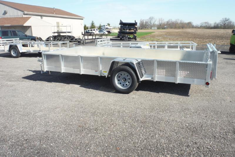 2020 Quality Steel and Aluminum 82X12 LANDSCAPE Utility Trailer in Ashburn, VA