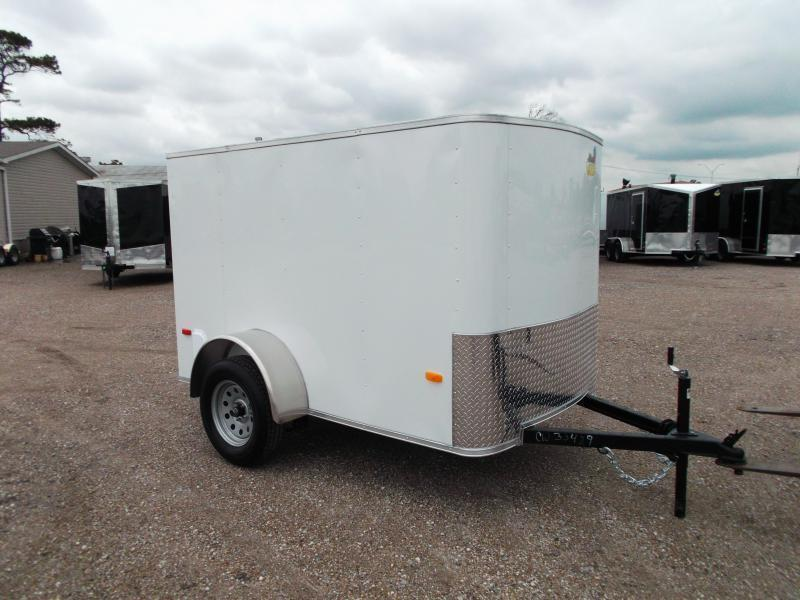 2019 Covered Wagon Trailers 5x8 Single Axle Cargo Trailer