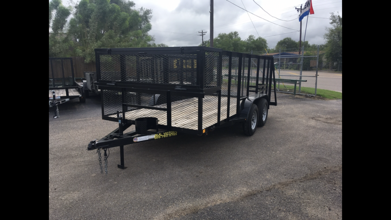"2019  MR VICTORS 83"" X 16' LANDSCAPE TRAILER"