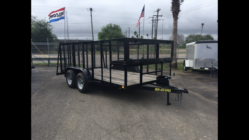 2019  MR VICTORS 83X16 LANDSCAPE TRAILER