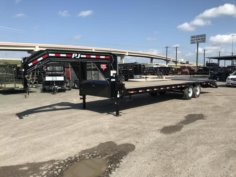 2019 PJ Trailers 102 X 28 Equipment Trailer