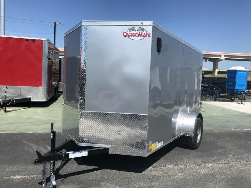 2020 Cargo Mate 6 x 10 Enclosed Cargo Trailer