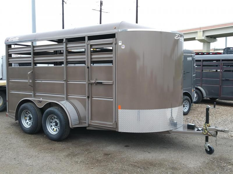 2018 DELTA 6X14 CATTLE TRAILER