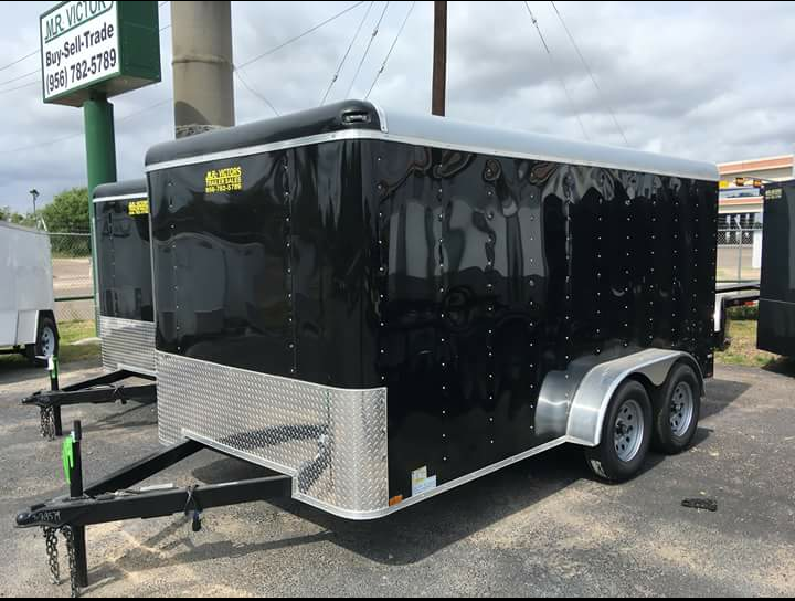 2018 Lark 7 X 14 Enclosed Cargo Trailer