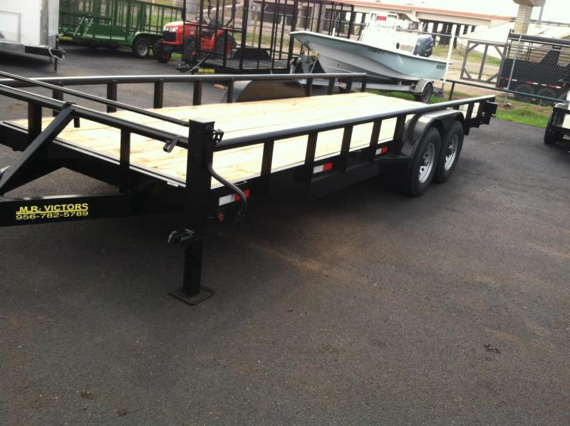 2019 MR. VICTORS  22 FT EQUIPMENT TRAILER Utility Trailer