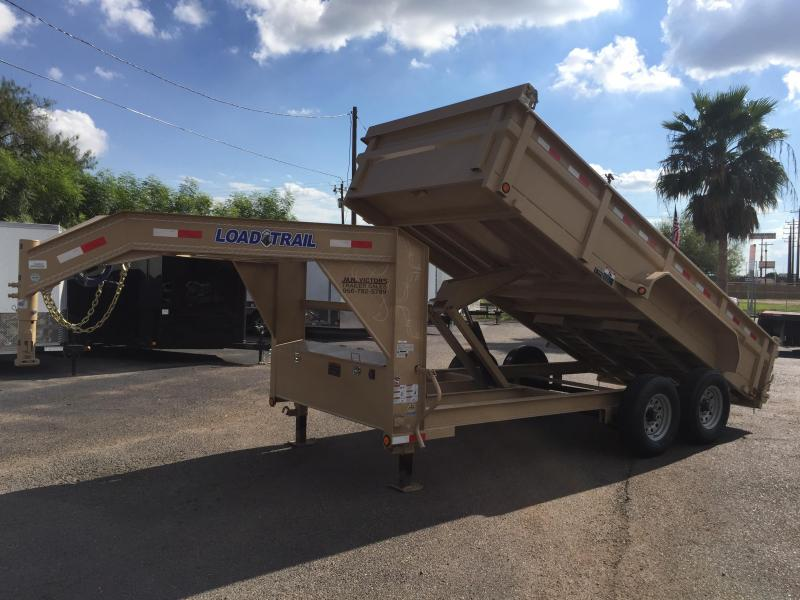 2018 Load Trail TANDEM LOW PRO 83x16' Dump Trailer