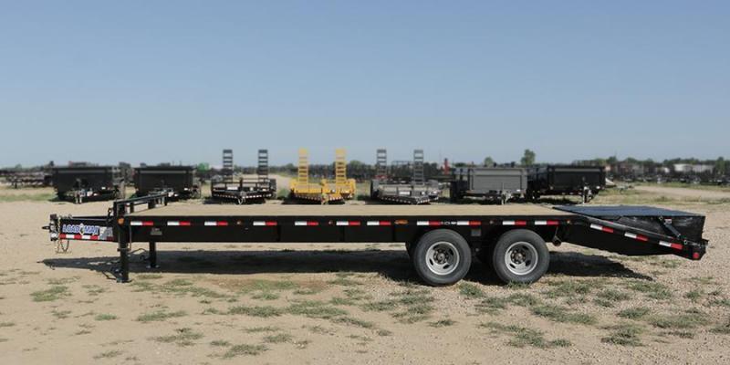 2017 Load Trail 102 X 34 PH24 HEAVY DUTY PINTLE HOOK Flatbed Trailer