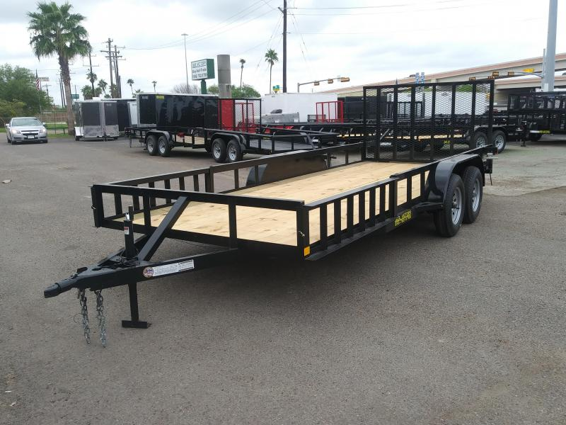 2019 MR VICTORS 82X18 ATV TRAILER