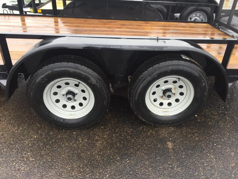 2018 Load Trail 77X16 TANDEM UTILITY ANGLE TOP 7K