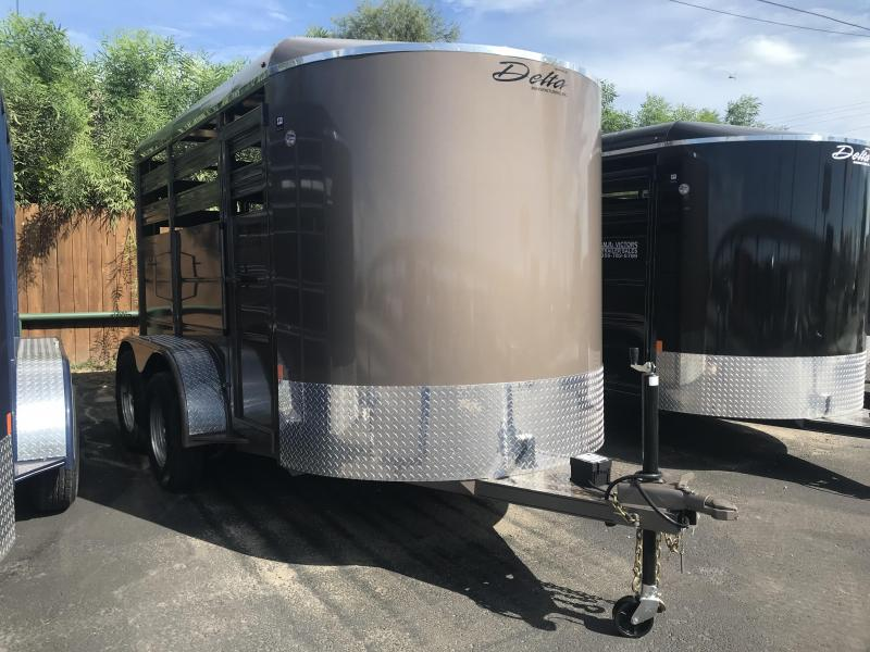 2020 Delta Manufacturing 6 x 12 Livestock Trailer