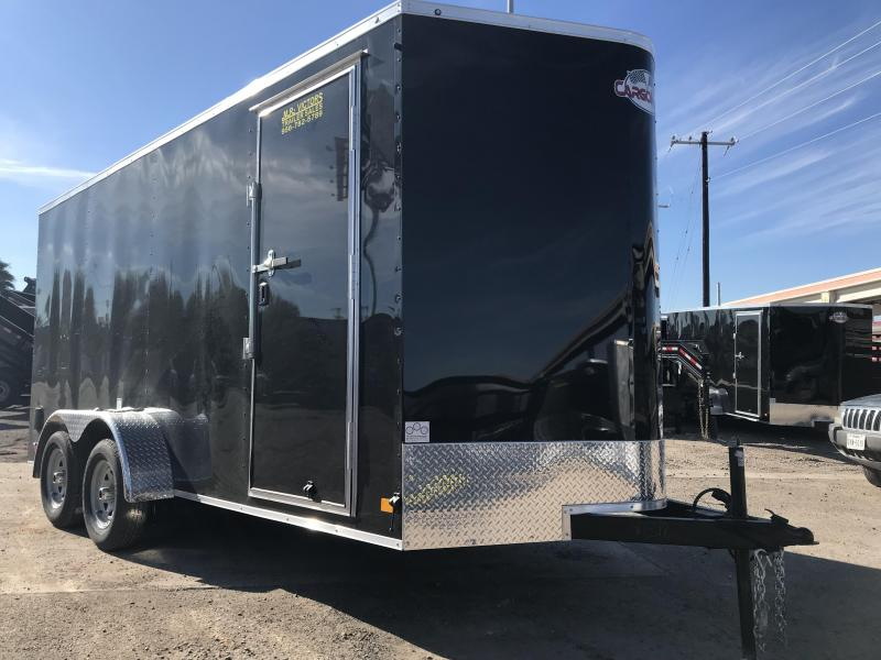 2019 CARGO MATE 7 X 16 ENCLOSED TRAILER
