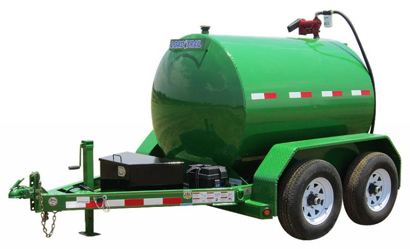 2017 Load Trail FT10 - 990 Gallon Fuel Trailer