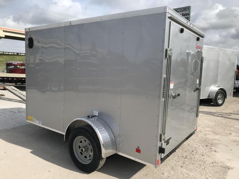 2019 Cargo Mate 6 X 10 SA Enclosed Cargo Trailer