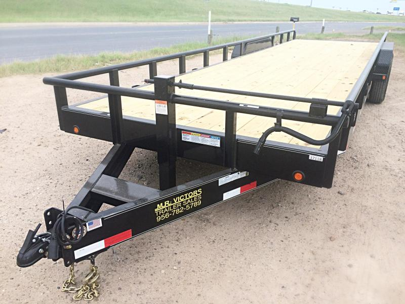 2019 MR VICTORS 83X26 HEAVY DUTY TRAILER