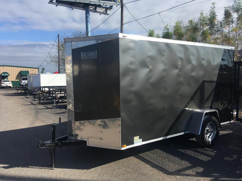 2019 LARK 6 X 12 2-TONE ENCLOSED CARGO TRAILER