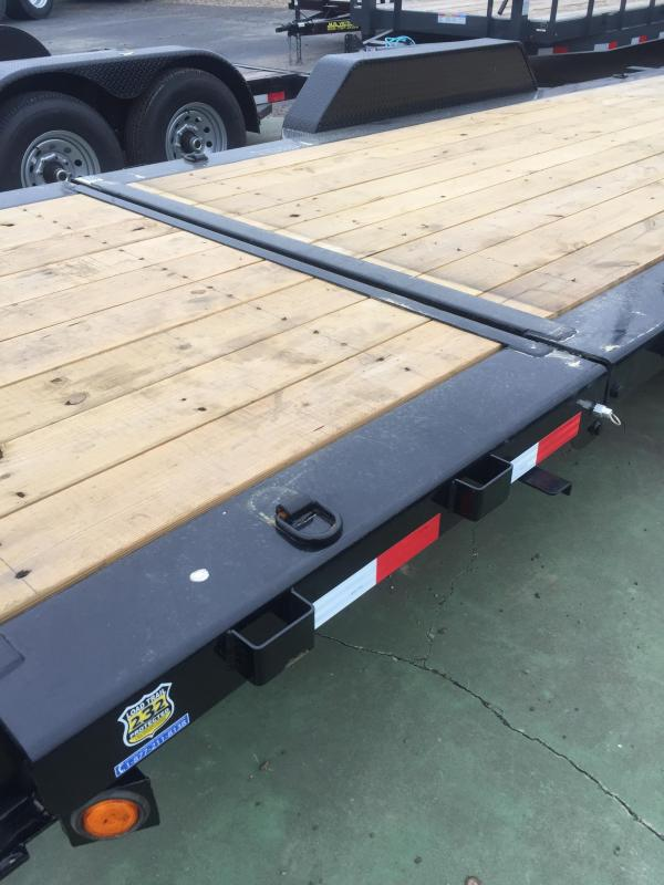 2018 Load Trail Tilt-n-Go - Tilt Deck Gravity 83 x 20 Equipment Trailer