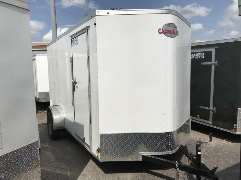 2019 Cargo Mate 6 X 12 Enclosed Cargo Trailer