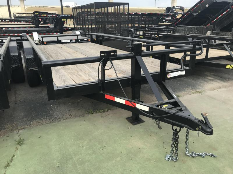 2019 MR VICTORS 83X16 HEAVY DUTY TRAILER
