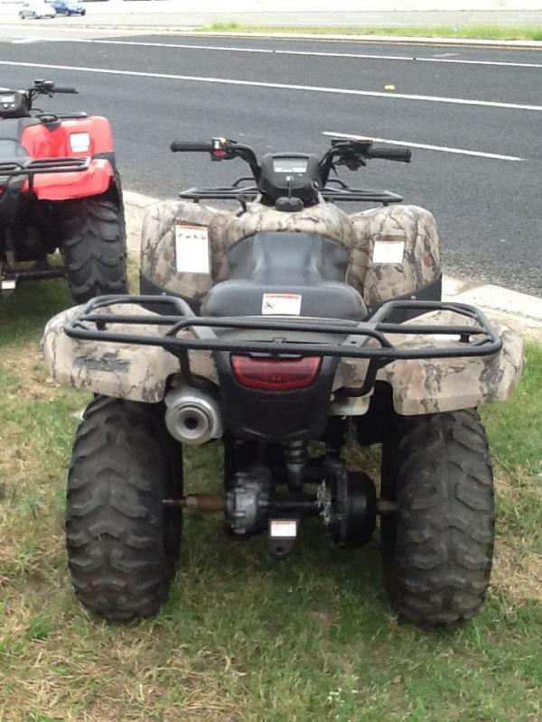 2013 Honda TRX420 ATV