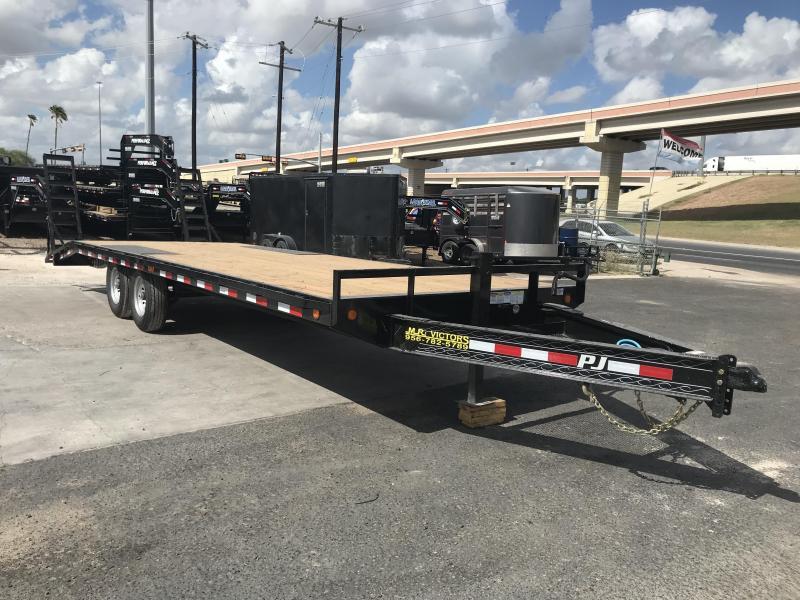 2020 PJ Trailers 102 x 24 Flatbed Trailer | Cargo Trailer