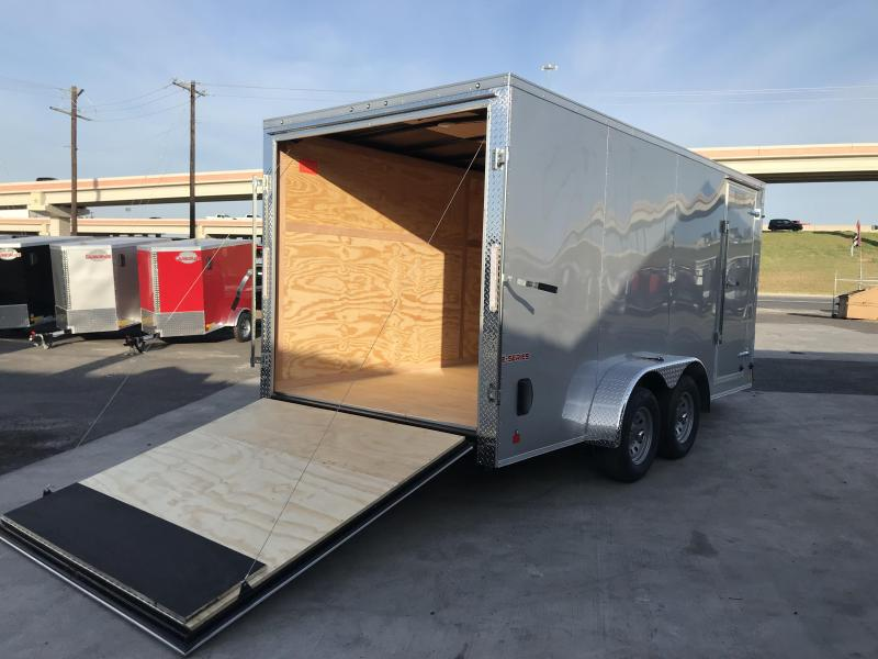 2020 Cargo Mate 7 x 16 Enclosed Cargo Trailer