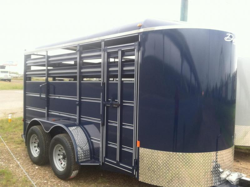 2019 DELTA  6X14 CATTLE TRAILER