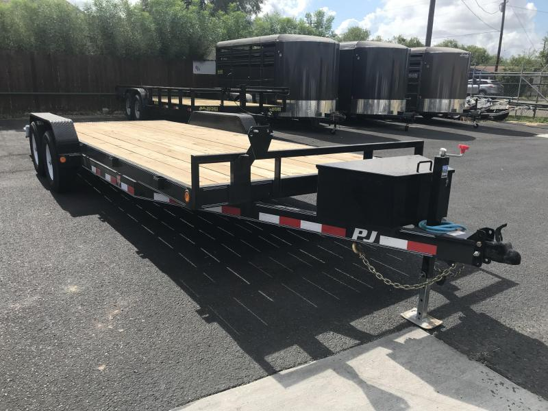 2020 PJ Trailers 83 x 20 Equipment Trailer