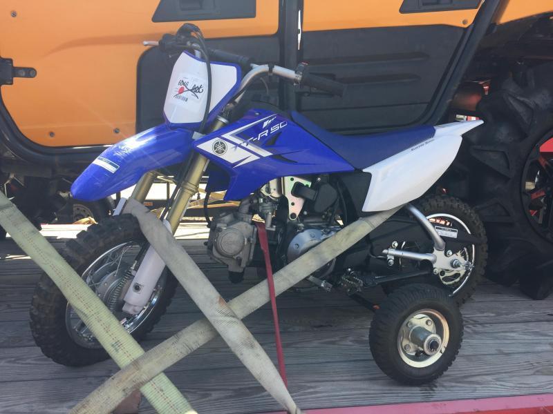 2013 Yamaha TT-R50 Motorcycle